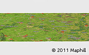 "Satellite Panoramic Map of the area around 52° 30' 23"" N, 6° 52' 30"" E"