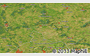 """Satellite 3D Map of the area around 52°30'23""""N,7°43'29""""E"""
