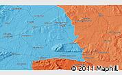 Political 3D Map of Án Chathair