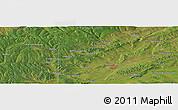 Satellite Panoramic Map of Ust'-Ordynskiy