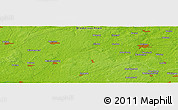 "Physical Panoramic Map of the area around 52° 53' 45"" N, 10° 16' 30"" E"