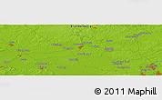 Physical Panoramic Map of Neuruppin