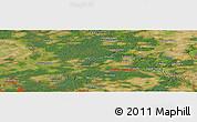 "Satellite Panoramic Map of the area around 52°53'45""N,13°40'30""E"