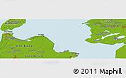 Physical Panoramic Map of Bovenkarspel