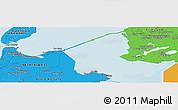 Political Panoramic Map of Bovenkarspel