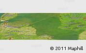 Satellite Panoramic Map of Langedijk
