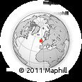Outline Map of Ballyguile Beg, rectangular outline