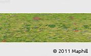 Satellite Panoramic Map of Herbrum