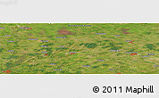 Satellite Panoramic Map of Bartmannsholte