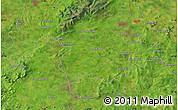 """Satellite Map of the area around 52°53'45""""N,7°34'30""""W"""