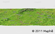 "Satellite Panoramic Map of the area around 52° 53' 45"" N, 7° 34' 30"" W"