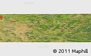 Satellite Panoramic Map of Thedinghausen