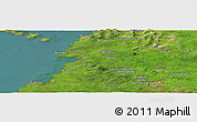 Satellite Panoramic Map of Ballyvramneen
