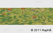 Satellite Panoramic Map of Escheburg