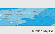 """Political Panoramic Map of the area around 53°17'0""""N,15°22'30""""E"""