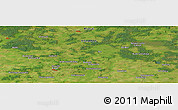 "Satellite Panoramic Map of the area around 53°17'0""N,27°16'29""E"