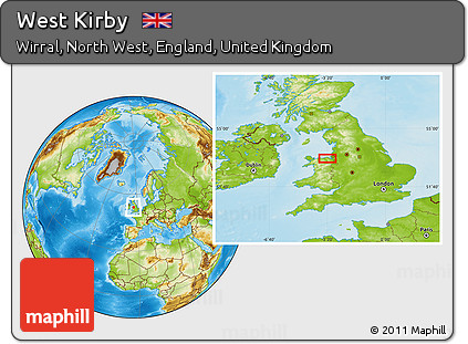 Free Physical Location Map of West Kirby on koopalings world map, legend of zelda world map, lucas world map, opal world map, stanford world map, minish cap world map, super mario world map, dover world map, eureka world map, resident evil world map, okami world map, langley world map, kobani world map, mushroom kingdom world map, fox world map, fire emblem world map, johnson world map, thera world map, street fighter world map,