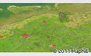 Satellite 3D Map of Leeuwarden