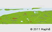 Physical Panoramic Map of Allardsoog