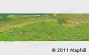 Satellite Panoramic Map of Allardsoog
