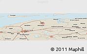 Shaded Relief Panoramic Map of Allardsoog
