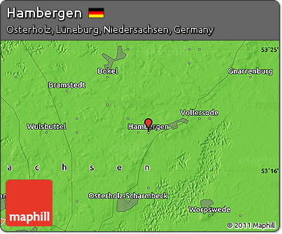 Political Map of Hambergen