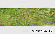 "Satellite Panoramic Map of the area around 53° 17' 0"" N, 9° 25' 30"" E"