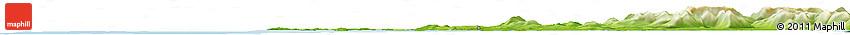 Physical Horizon Map of Clifden