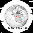 Outline Map of T8E 2E5, rectangular outline