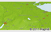 """Physical 3D Map of the area around 53°40'8""""N,13°40'30""""E"""