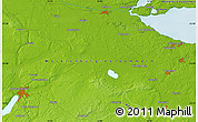 """Physical Map of the area around 53°40'8""""N,13°40'30""""E"""