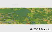 Satellite Panoramic Map of Gorkow