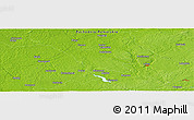 "Physical Panoramic Map of the area around 53° 40' 8"" N, 15° 22' 30"" E"