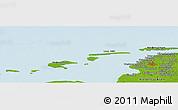 Physical Panoramic Map of Alt Siegelsum