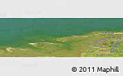 "Satellite Panoramic Map of the area around 53° 40' 8"" N, 6° 52' 30"" E"