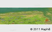 "Satellite Panoramic Map of the area around 53°40'8""N,7°43'29""E"