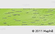 Physical Panoramic Map of Verkh-Zhilino