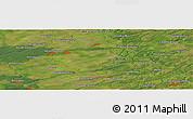Satellite Panoramic Map of Verkh-Zhilino