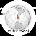 Outline Map of Navarino, rectangular outline