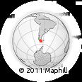 Outline Map of Sara, rectangular outline