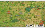 Satellite 3D Map of Neumünster