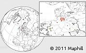 Blank Location Map of Eutin