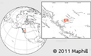 """Blank Location Map of the area around 54°3'9""""N,126°34'29""""W"""