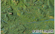 """Satellite Map of the area around 54°3'9""""N,126°34'29""""W"""