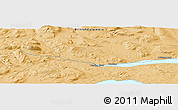 """Political Panoramic Map of the area around 54°3'9""""N,126°34'29""""W"""