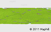 Physical Panoramic Map of Demmin