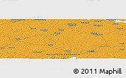 Political Panoramic Map of Demmin