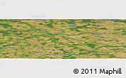 Satellite Panoramic Map of Demmin