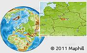 Physical Location Map of Stanyushki