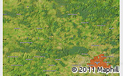 Satellite Map of Islochka